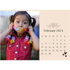 Desktop Calendar 8 5  X 6 : Memories To Cherish By Jennyl   Desktop Calendar 8 5  X 6    Aobgyfju6tgp   Www Artscow Com Feb 2016