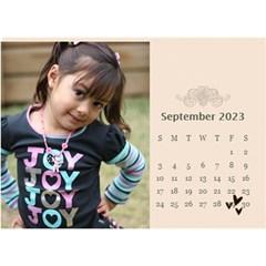 Desktop Calendar 8 5  X 6 : Memories To Cherish By Jennyl   Desktop Calendar 8 5  X 6    Aobgyfju6tgp   Www Artscow Com Sep 2016