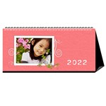 flower faith - 11x5 - Desktop Calendar 11  x 5