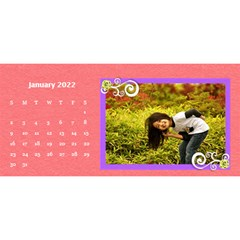2015 Flower Faith   11x5 By Angel   Desktop Calendar 11  X 5    Io452qgugs00   Www Artscow Com Jan 2015