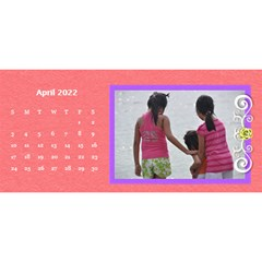 2015 Flower Faith   11x5 By Angel   Desktop Calendar 11  X 5    Io452qgugs00   Www Artscow Com Apr 2015