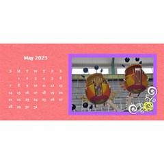 2015 Flower Faith   11x5 By Angel   Desktop Calendar 11  X 5    Io452qgugs00   Www Artscow Com May 2015