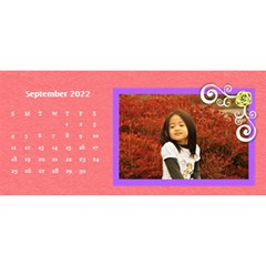 2015 Flower Faith   11x5 By Angel   Desktop Calendar 11  X 5    Io452qgugs00   Www Artscow Com Sep 2015