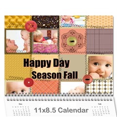 Every Year By Joely   Wall Calendar 11  X 8 5  (12 Months)   Xbvo8h29m1yz   Www Artscow Com Cover