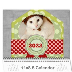 Every Year 2019 By Joely   Wall Calendar 11  X 8 5  (12 Months)   H52vlchrz4xu   Www Artscow Com Cover