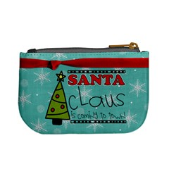 Mini Coin Merry Christmas By Martha Meier   Mini Coin Purse   H73q366i9k0o   Www Artscow Com Back