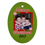 Christmas 2013 - Ornament (Oval)