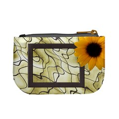 Sunflower Delight Mini Coin Purse By Deborah   Mini Coin Purse   Mlew1hw5grkn   Www Artscow Com Back