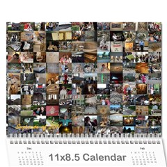 summer Of 2011 calendar By Laurel   Wall Calendar 11  X 8 5  (12 Months)   Xwq733no5wab   Www Artscow Com Cover