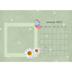 Flower World By Joely   Desktop Calendar 8 5  X 6    Tg55ihqdwsyh   Www Artscow Com Jan 2015