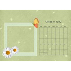 Flower World By Joely   Desktop Calendar 8 5  X 6    Tg55ihqdwsyh   Www Artscow Com Oct 2015