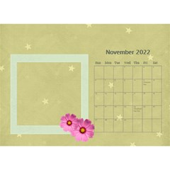 Flower World By Joely   Desktop Calendar 8 5  X 6    Tg55ihqdwsyh   Www Artscow Com Nov 2015