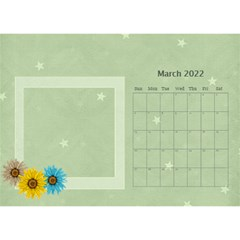 Flower World By Joely   Desktop Calendar 8 5  X 6    Tg55ihqdwsyh   Www Artscow Com Mar 2015