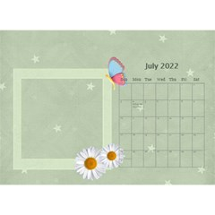Flower World By Joely   Desktop Calendar 8 5  X 6    Tg55ihqdwsyh   Www Artscow Com Jul 2015