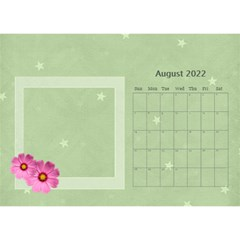 Flower World By Joely   Desktop Calendar 8 5  X 6    Tg55ihqdwsyh   Www Artscow Com Aug 2015