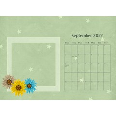 Flower World By Joely   Desktop Calendar 8 5  X 6    Tg55ihqdwsyh   Www Artscow Com Sep 2015