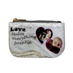 Love Mini Coin Purse By Deborah   Mini Coin Purse   Nqldkbmusg23   Www Artscow Com Front