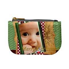 Christmas By Joely   Mini Coin Purse   1vwlsi2jwo1k   Www Artscow Com Front