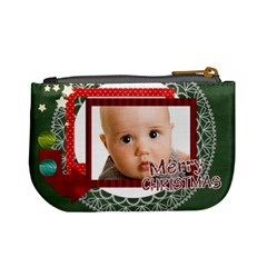 Christmas By Joely   Mini Coin Purse   1vwlsi2jwo1k   Www Artscow Com Back