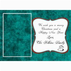 Christmas Card 2011 By Brookieadkins Yahoo Com   5  X 7  Photo Cards   V44a3t734ror   Www Artscow Com 7 x5  Photo Card - 1