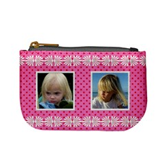 Pink Princess Mini Coin Purse By Deborah   Mini Coin Purse   99ew2foo8td7   Www Artscow Com Front