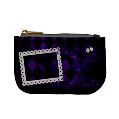 Happy Halloween Mini Coin Purse 01 By Carol   Mini Coin Purse   8xxagoxro2r4   Www Artscow Com Front