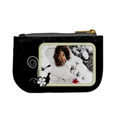 Mini Coin Purse   Winter By Angel   Mini Coin Purse   Yt42h000pgrw   Www Artscow Com Back