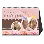 flower world - Desktop Calendar 8.5  x 6
