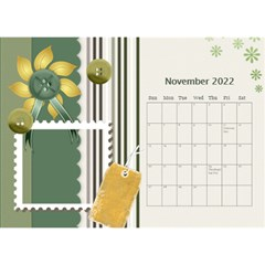 Flower World By Joely   Desktop Calendar 8 5  X 6    B78emrajczr3   Www Artscow Com Nov 2015