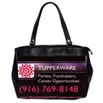 Oversized Office Handbag (Two Sided) - Oversize Office Handbag (2 Sides)