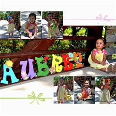 Aubrey Collage By Crystal Garcia   Collage 8  X 10    1urmeeft4vde   Www Artscow Com 10 x8 Print - 1