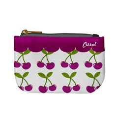 Cherry Mini Coin Purse 02 By Carol   Mini Coin Purse   Zxf0nbzmscik   Www Artscow Com Front