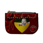 Lotsa Red Hears Mini Coin Purse