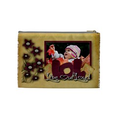Live Out Loud Bag By Amarie   Cosmetic Bag (medium)   Avebppepjxhq   Www Artscow Com Back