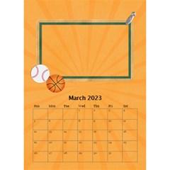Desktop Calendar 6  X 8 5 : Cool Dude By Jennyl   Desktop Calendar 6  X 8 5    R4cdq8mefb7r   Www Artscow Com Mar 2016