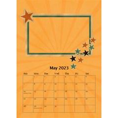 Desktop Calendar 6  X 8 5 : Cool Dude By Jennyl   Desktop Calendar 6  X 8 5    R4cdq8mefb7r   Www Artscow Com May 2016