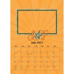 Desktop Calendar 6  X 8 5 : Cool Dude By Jennyl   Desktop Calendar 6  X 8 5    R4cdq8mefb7r   Www Artscow Com Jul 2016