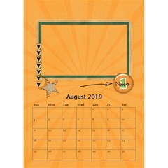Desktop Calendar 6  X 8 5 : Cool Dude By Jennyl   Desktop Calendar 6  X 8 5    R4cdq8mefb7r   Www Artscow Com Aug 2016