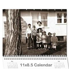 All Dates Calendar By Necia   Wall Calendar 11  X 8 5  (12 Months)   A23bokgpds41   Www Artscow Com Cover