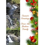 Christmas Greeting card 5x7 - Greeting Card 5  x 7