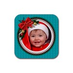 Christmas Coaster - Rubber Coaster (Square)