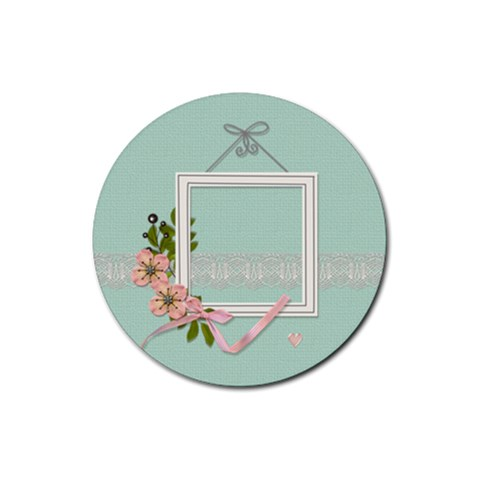 Coaster: A Mother By Jennyl   Rubber Coaster (round)   N7mh6unc2ba0   Www Artscow Com Front