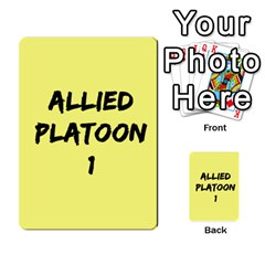 Iabsm3 Allied By Agentbalzac   Multi Purpose Cards (rectangle)   71uln76men5d   Www Artscow Com Back 1