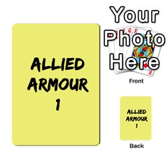 Iabsm3 Allied By Agentbalzac   Multi Purpose Cards (rectangle)   71uln76men5d   Www Artscow Com Back 9