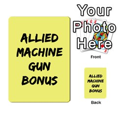 Iabsm3 Allied By Agentbalzac   Multi Purpose Cards (rectangle)   71uln76men5d   Www Artscow Com Back 39