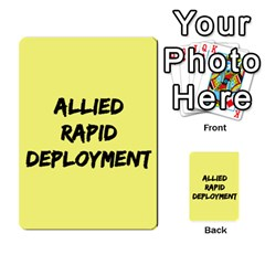Iabsm3 Allied By Agentbalzac   Multi Purpose Cards (rectangle)   71uln76men5d   Www Artscow Com Back 42