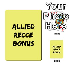 Iabsm3 Allied By Agentbalzac   Multi Purpose Cards (rectangle)   71uln76men5d   Www Artscow Com Back 43