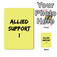 Iabsm3 Allied By Agentbalzac   Multi Purpose Cards (rectangle)   71uln76men5d   Www Artscow Com Back 45