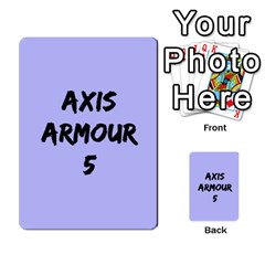 Iabsm3 Axis By Agentbalzac   Multi Purpose Cards (rectangle)   No3jvuvw9xze   Www Artscow Com Back 24