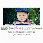 Merry Everything Christmas Card - 5  x 7  Photo Cards